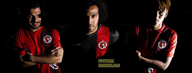 Club Tijuana Clausura 2013 Nike Home and Away Jerseys