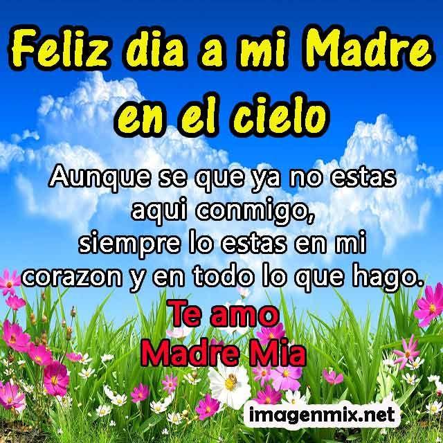 Feliz Cumpleanos A Mi Madre Que Esta En El Cielo Buscar Con