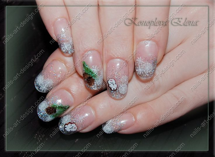 Winter Nail Designs   ... such nail varnish or create nails 2014 winter photo with a metal tip