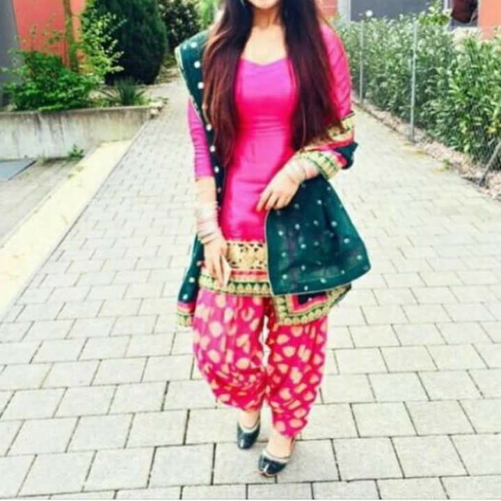 Awesome punjabi suit