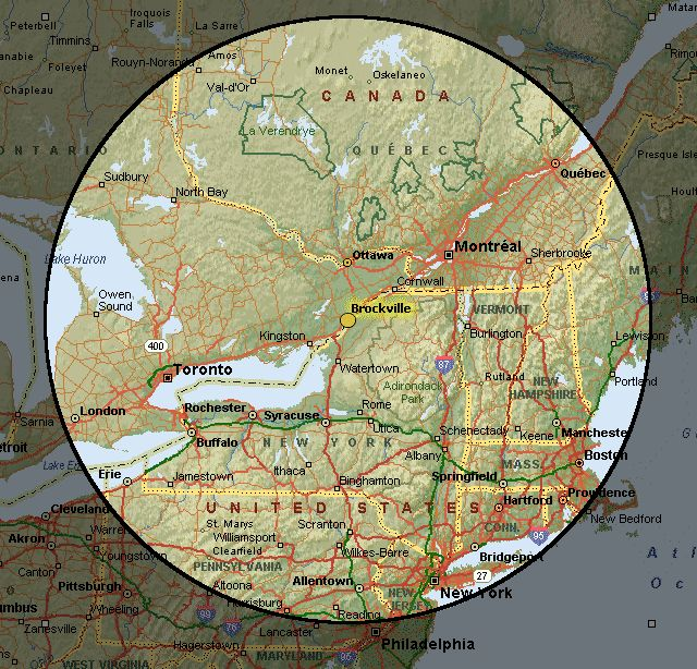 Brockville Maps - City of Brockville