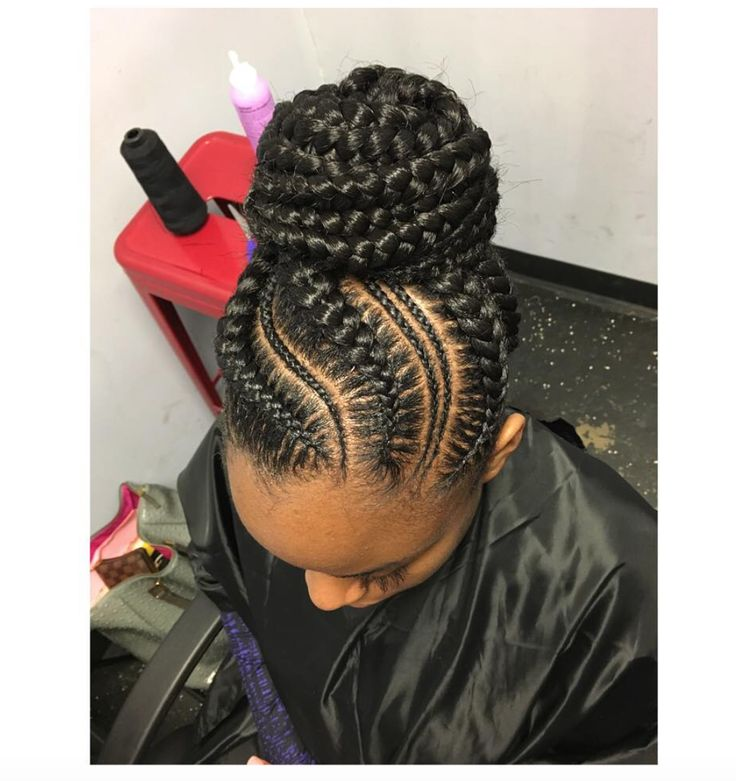 Love this! Styled by @nisaraye - http://community.blackhairinformation.com/hairstyle-gallery/braids-twists/love-styled-nisaraye/