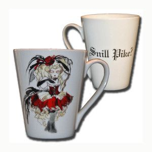 ,,Snill pike,, kopp,mug,cup by Anna Strøm design of Norway www.design-of-norway.no