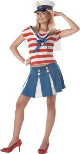 Cute Sailor Halloween Costumes for Teens
