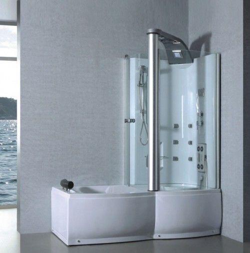 25 beste idee n over bad met douche op pinterest douche bad combinatie douche wasbak en - Baddouche ontwerp ...