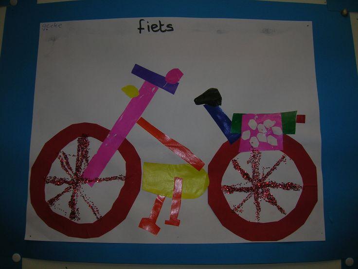 Plakboek: vervoer fiets - De fiets