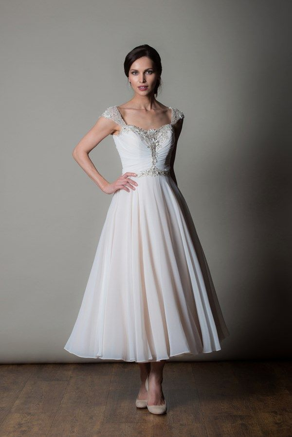 Short Wedding Dress For Older Brides