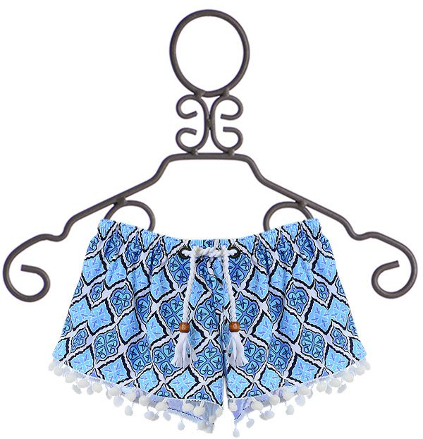 SnapperRock Cover Up Shorts for Girls (8 & 14)