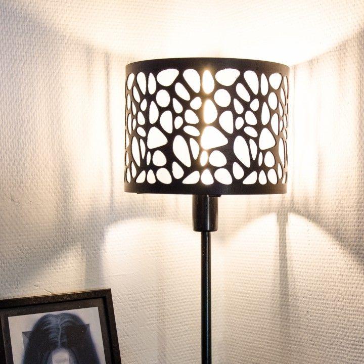3d Printable Voronoi Lampshade By Patrick Bottiger Funky Lighting Dining Room Lighting Lamp