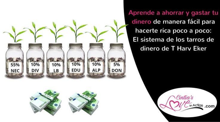 Como ahorrar dinero y generar riqueza es un secreto que las personas ricas conocen muy bien y yo te contaré gracias al sistema de los 6 tarros de Harv Eker.