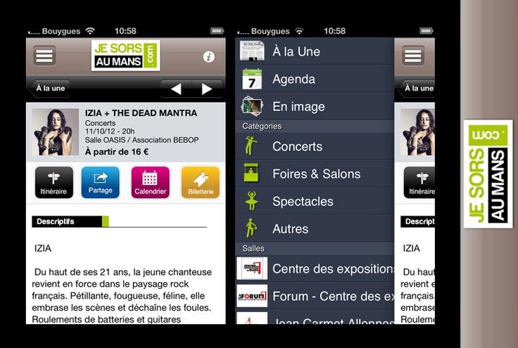 Application mobile - Jesorsaumans.com