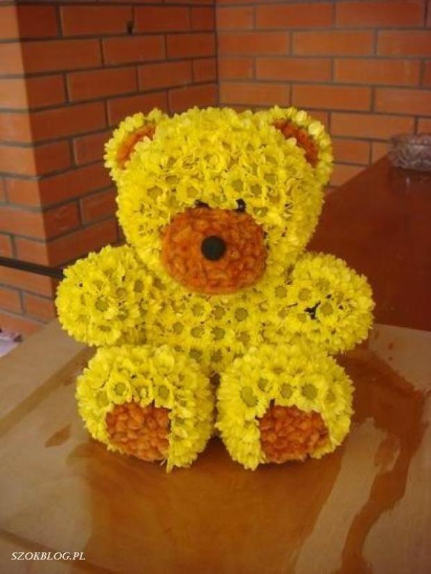 Фото поделки из цветов