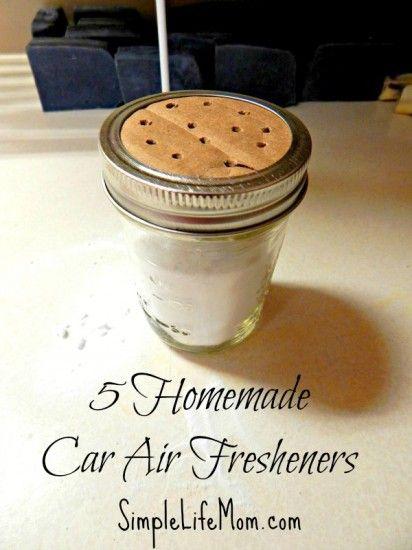 5 homemade car air fresheners homemade crafts homemade and mom. Black Bedroom Furniture Sets. Home Design Ideas