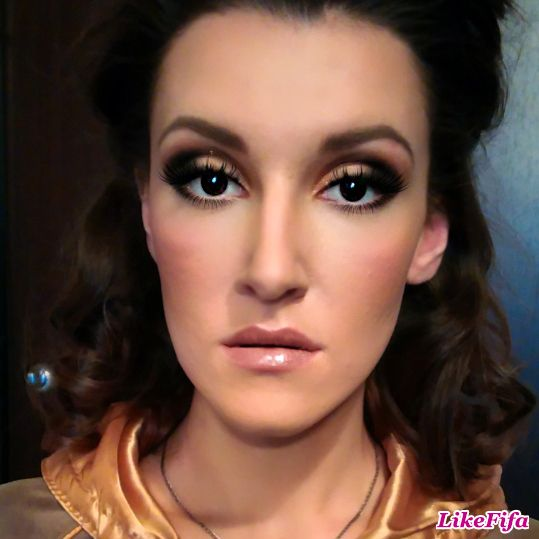 #вечерний_макияж, #броский_макияж_на_вечер, #макияж_likefifa, #макияж_от_мастера_Москвы, #стильный_мейкап