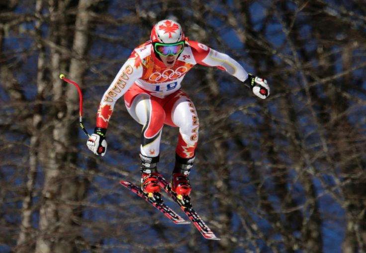 Photos: Canadians at Sochi Olympics Day 1 | CTV News at Sochi 2014 Canada's Erik Guay makes a jump during men's downhill training at the Sochi Winter Games in Krasnaya Polyana, Russia, February 6, 2014.