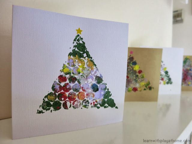 bubble wrap christmas card