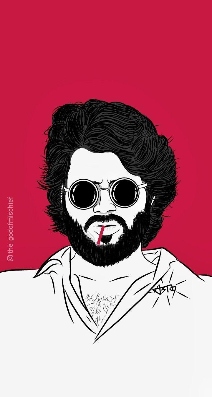 Arjun Reddy Vijay Devarkonda Cute Cartoon Pictures Silhouette Art Cute Cartoon Wallpapers 1080p full hd 1080p arjun reddy hd