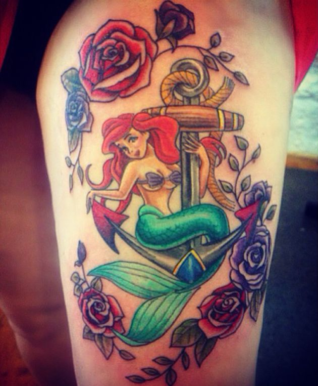 50 Lovely Mermaid Tattoos For Women: 25+ Best Ideas About Mermaid Tattoo Designs On Pinterest