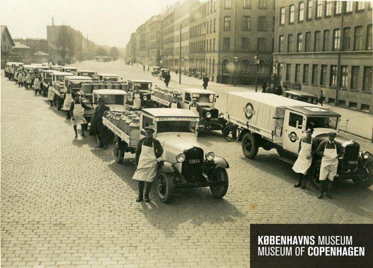 Halmtorvet Beskrivelse Andelsejerne i København Tid Fremstillet: ca. 1925