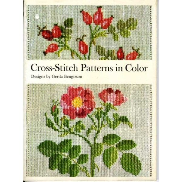 Danish Cross Stitch Patterns Wild Roses Window Flowers Country Seasons