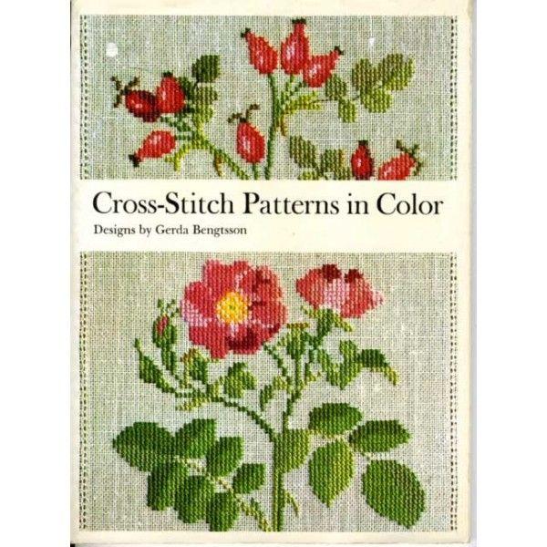 Danish Cross Stitch Patterns Wild Roses Window Flowers Country Seasons