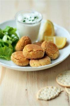 POLPETTINE DI CECI E TONNO ( Meatballs with chickpeas and canned tuna)