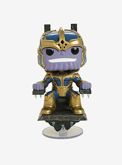 89ff4cc9a43 Funko Marvel Studios The First 10 Years Pop! Thanos (With Throne) Vinyl  Bobble-Head Hot Topic Exclusive