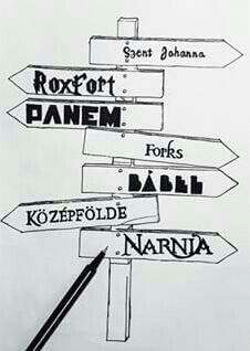 BOOKMARK #books #babel #narnia #szentjohannagimi #forks #panem #roxfort