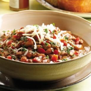 Beef & Bean Chile Verde Recipe