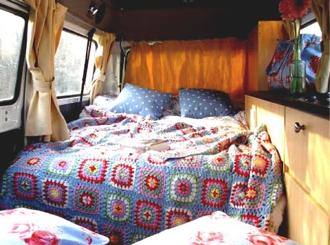 Feather and Nest: Tea & Toast: A Vintage Summer Holiday..vintage camper..for glamping..glamour camping