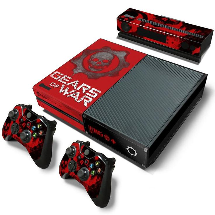 Gears Of War vinyl skin for Xbox One