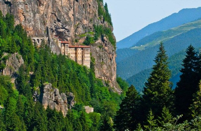 Сумела монастырь — Трабзон