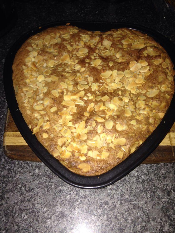 Walentines baking bakewelll tart