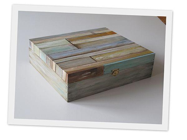 theedoos geschilderd als sloophout, kijk even op natuurellen.nl