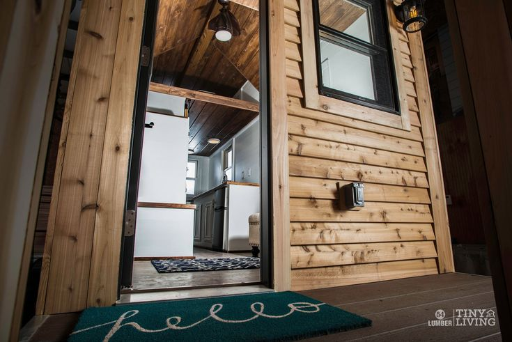 The Roving Front Door by 84 Tiny Houses - 84 Lumber