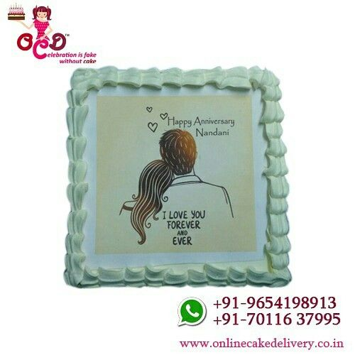 Now you can write names of your #husband/wife, parents, relatives and friends on happy anniversary cake online. Writing any name on the #happy #anniversary ...#Anniversary #Cakes - ORDER and Send Anniversary Cakes to your #loved ones in Delhi NCR and make his/her day so memorable. #SAME #DAY #DELIVERY! Order freshly baked anniversary #cakes for #delivery in #Delhi NCR. Most of our products now come in both #egg and #eggless anniversary cake options. Our home No Hidden Cost · Free #Shipping ·…
