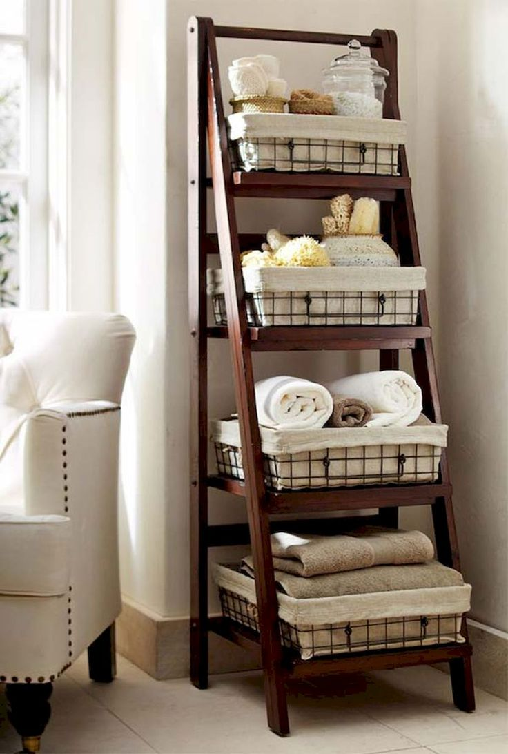 65 quick and easy bathroom shelves tips