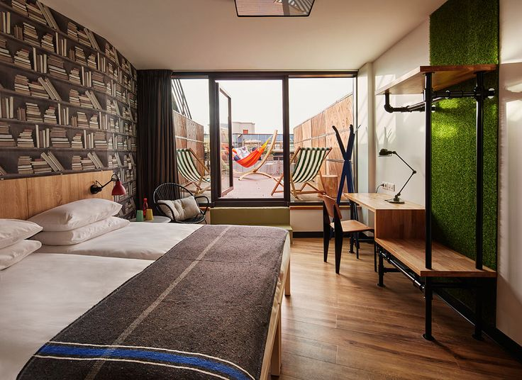 The innovative hostel brand opens its biggest location yet, offering private rooms with terraces (and hammocks)