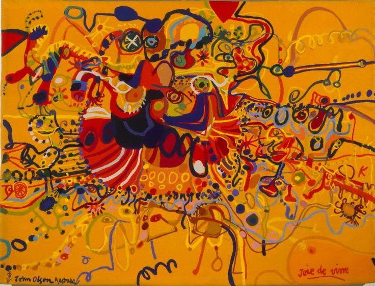 An image of Joie de vivre by John Olsen, Portalegre Tapestry Workshop
