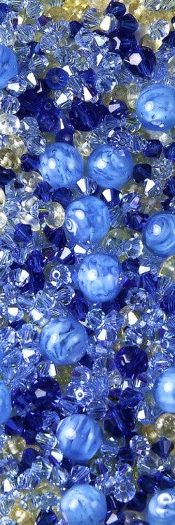 Blue Moon Beads by docoverachiever