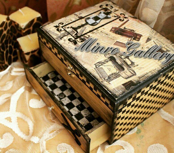 #box#wooden#handmade#decoupage