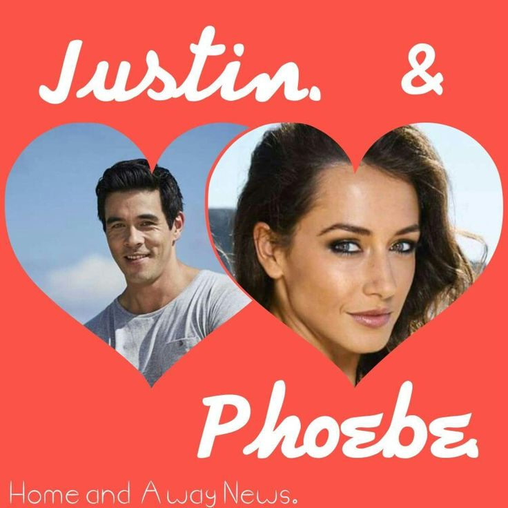 Home and Away Justin and Phoebe