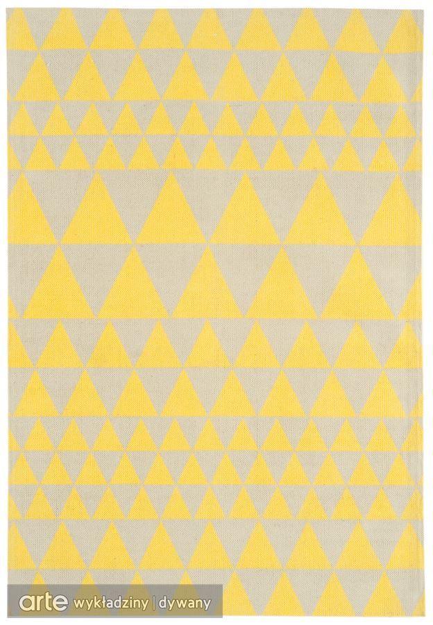 Dywan Onix ON08 Triangles Yellow | 1