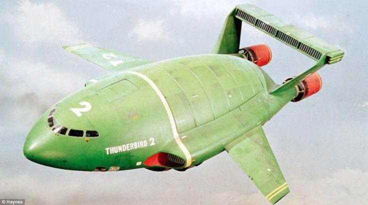 Thunderbird 2   Thunderbirds   Gerry Anderson
