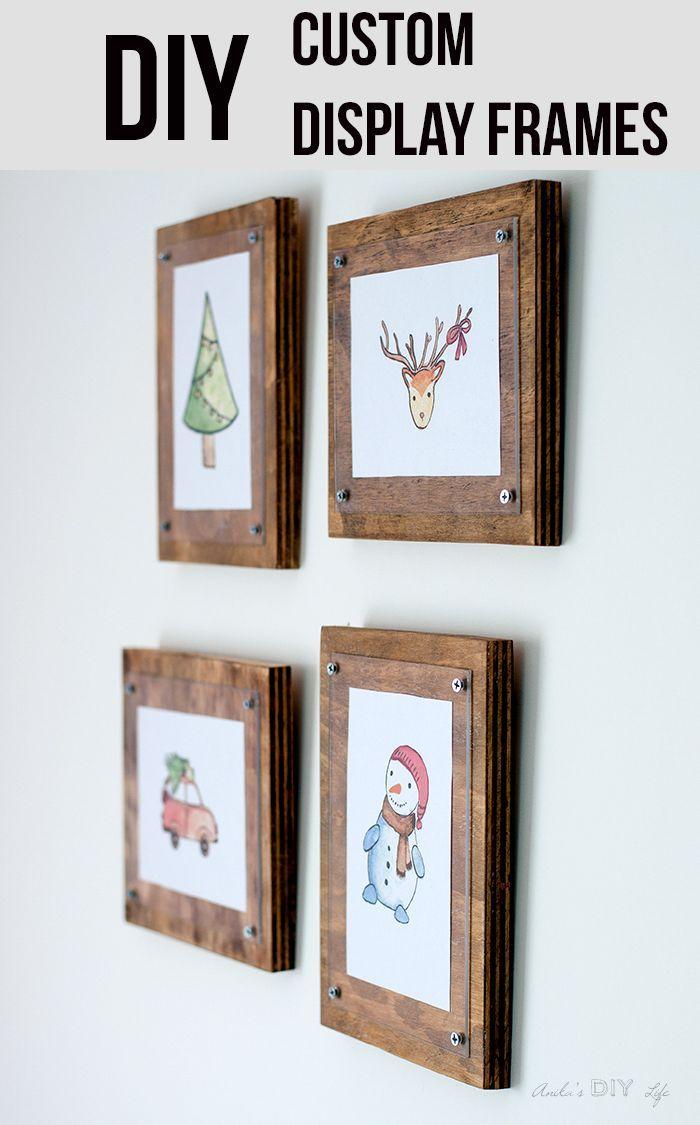How To Make A Simple Photo Frame Diy Frame Simple Photo Frame