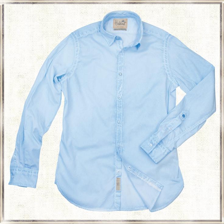 Halibut Shirt - Light Blue Ghost