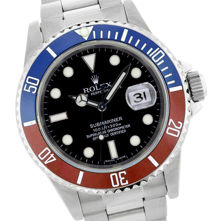 Rolex Submariner Blue Red