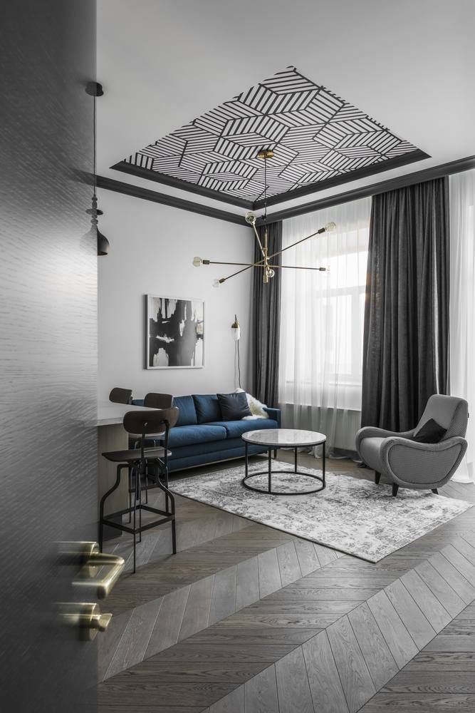 gallery of apartment in vilnius old town interjero architektra 9 - Ceiling Design Ideas