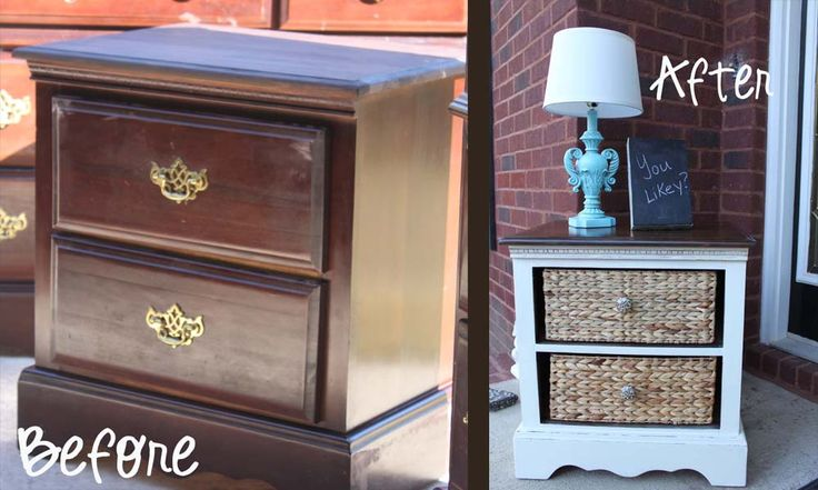 Outdated furniture transformation by Southern Revivals: Revivals