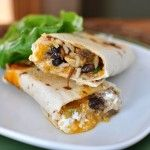 "EASY Crispy Southwest Chicken Wraps - can make this ""clean"" with just a couple easy substitutions"